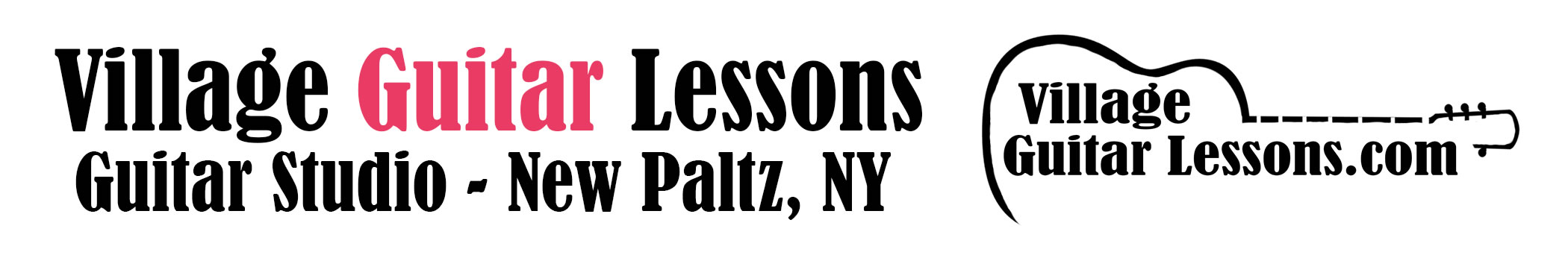 Village Guitar Lessons Header